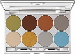 Parfums et Produits cosmétiques Palette professionnelle de fards à paupières - Kryolan Dermacolor Light Eye Shadow Palette 8 Colors