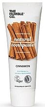 Parfums et Produits cosmétiques Dentifrice naturel, Cannelle - The Humble Co. Natural Toothpaste Cinnamon