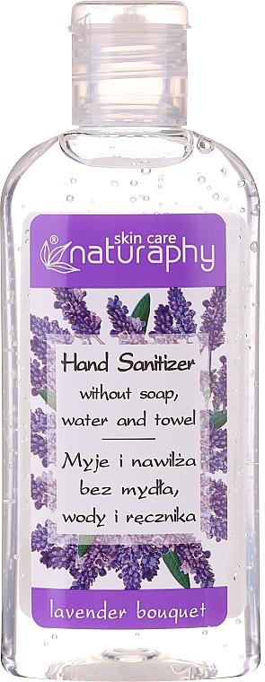 Gel désinfectant pour mains, Lavande (mini) - Bluxcosmetics Naturaphy Alcohol Hand Sanitizer With Lavender Fragrance