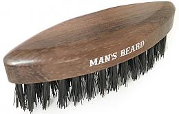 Parfums et Produits cosmétiques Brosse à barbe en bois - Man'S Beard Travel Beard Brush Without Wooden Handle