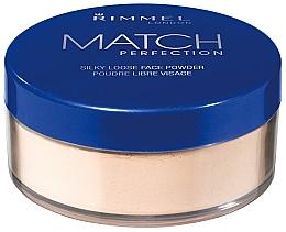 Parfums et Produits cosmétiques Poudre libre pour visage - Rimmel Match Perfection Silky Loose Powder