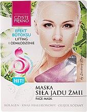 Parfums et Produits cosmétiques Masque au venin de serpent pour visage - Czyste Piekno Face Mask