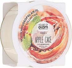 Parfums et Produits cosmétiques Bougie parfumée de soja et cire d'abeille - House of Glam French Apple Cake Candle (mini)