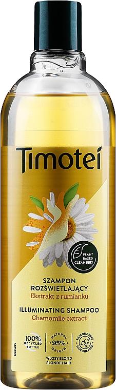 Shampooing à l'extrait de camomille - Timotei Golden Highlights Shampoo