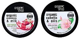 Parfums et Produits cosmétiques Coffret cadeau - Organic Shop (b/mousse/250ml + b/cr/250ml)