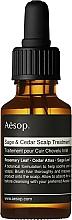 Parfums et Produits cosmétiques Huile pour cheveux - Aesop Sage & Cedar Scalp Treatment