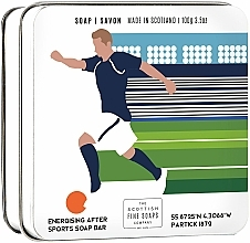 Parfums et Produits cosmétiques Savon en boîte métallique pour corps - Scottish Fine Soaps Football Sports Soap In A Tin