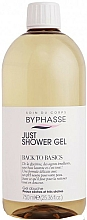 Parfums et Produits cosmétiques Gel douche pour peaux sèches - Byphasse Back To Basics Just Shower Gel Dry And Very Dry Skin
