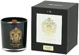Parfums et Produits cosmétiques Tiziana Terenzi Al Contrario Scented Candle in Black Glass - Bougie parfumée