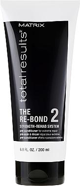 Pré-soin à rincer pour cheveux - Matrix Total Results The Re-Bond