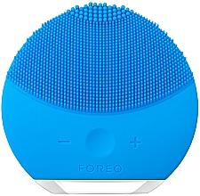 Parfums et Produits cosmétiques Brosse de nettoyage et massage spa à intensité réglable - Foreo Luna Mini 2 Aquamarine