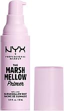 Parfums et Produits cosmétiques Base à la racine de guimauve pour visage - NYX Professional The Marshmellow Smoothing Primer