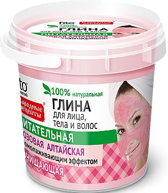 Argile rose d'Altaï pour visage, corps et cheveux - FitoKosmetik