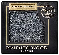 Parfums et Produits cosmétiques Shampooing solide au charbon actif - Stara Mydlarnia Pimento Wood Shampoo Bar