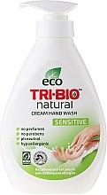 Parfums et Produits cosmétiques Savon liquide naturel pour mains - Tri-Bio Cream Wash Sensitive