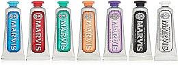 Parfums et Produits cosmétiques Marvis Toothpaste Flavor Collection Gift Set (7x25ml) - Set de 7 dentifrices différents