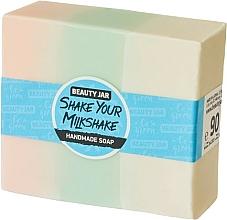Parfums et Produits cosmétiques Savon artisanal à la glycérine, Fraise à la crème - Beauty Jar Shake Your Milkshake Handmade Soap