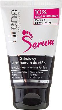 Crème-sérum à l'acide glycolique pour pieds - Lirene Glycolic Cream-Serum For Feet