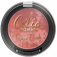 Parfums et Produits cosmétiques Blush poudre rose - Celia Woman Rose Blush Mosaic