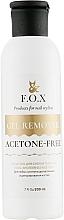 Parfums et Produits cosmétiques Dissolvant bio sans acétone pour vernis gel - F.O.X Gel Remover Acetone-Free