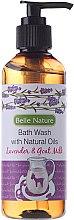 Parfums et Produits cosmétiques Gel douche naturel, Lavande et lait de chèvre - Belle Nature Bath Wash Lavender&Goat Milk