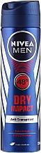 Parfums et Produits cosmétiques Déodorant spray anti-transpirant - Nivea Men Dry Impact Deo Spray