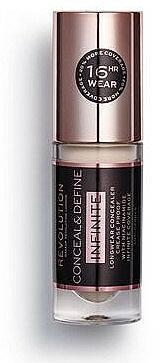 Correcteur visage - Makeup Revolution Conceal & Define Infinite Longwear Concealer — Photo N1