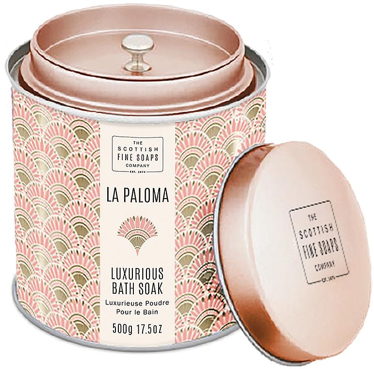 Scottish Fine Soaps La Paloma - Poudre de bain parfumée