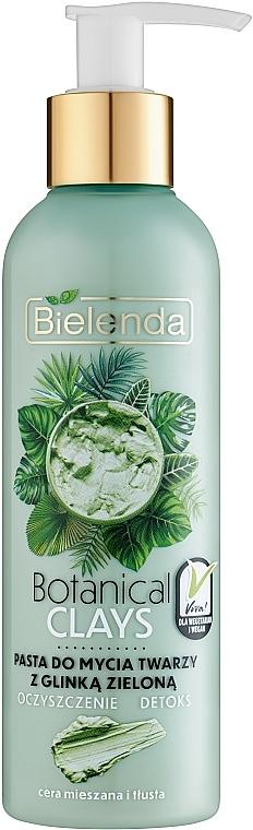 Pâte nettoyante à l'argile verte pour visage - Bielenda Botanical Clays Vegan Face Wash Paste Green Clay