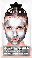 Parfums et Produits cosmétiques Masque métallique détoxifiant pour visage - Bielenda Silver Detox Metallic Mask