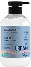 Parfums et Produits cosmétiques Après-shampooing vegan, Noix de coco et Mûre blanc - Ecolatier Urban Hair Balm