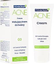 Parfums et Produits cosmétiques Crème matifiante à l'acide salicylique pour visage - Novaclear Acne Cream