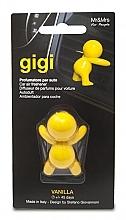 Parfums et Produits cosmétiques Diffuseur de parfum pour voiture, Vanille - Mr&Mrs Gigi Car Freshener Yellow Vanilla