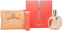 Parfums et Produits cosmétiques Roberto Verino Pure for Her - Coffret (eau de toilette/120ml + lotion corps/50ml + trousse de toilette)