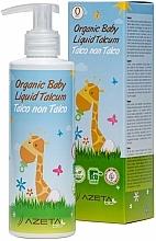 Parfums et Produits cosmétiques Émulsion crémeuse bio au talc pour bébé - Azeta Bio Organic Baby Liquid Talcum
