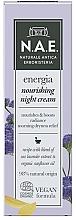 Parfums et Produits cosmétiques Crème de nuit végane à l'extrait de lavande - N.A.E. Energia Nourishing Night Cream