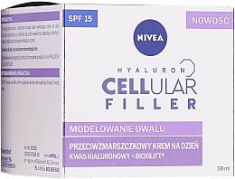 Parfums et Produits cosmétiques Crème de jour à l'acide hyaluronique - Nivea Hyaluron Cellular Filler Day Cream SPF15