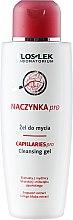 Parfums et Produits cosmétiques Gel nettoyant au ginkgo pour visage - Floslek Dilated Capillaries Line Cleansing Gel
