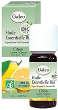 Parfums et Produits cosmétiques Huile essentielle bio de citron - Galeo Organic Essential Oil Lemon