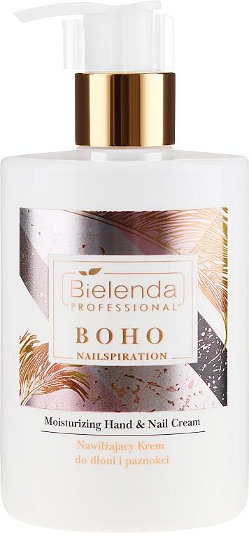 Crème hydratante pour mains et ongles - Bielenda Professional Nailspiration Boho Moisturising Hand & Nail Cream