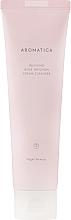 Parfums et Produits cosmétiques Mousse nettoyante à la rose et huile de coco pour visage - Aromatica Rose Absolute Cream Cleanser