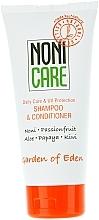 Parfums et Produits cosmétiques Shampooing et après-shampooing au noni et aloès - Nonicare Garden Of Eden Shampoo & Conditioner