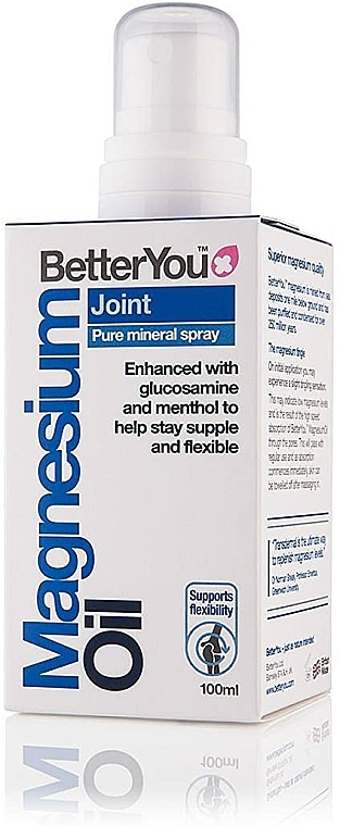 Brume parfumée pour corps - BetterYou Magnesium Oil Joint Pure Mineral Spray