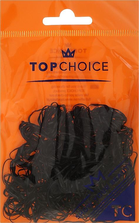 Élastiques à cheveux 22722, noir - Top Choice