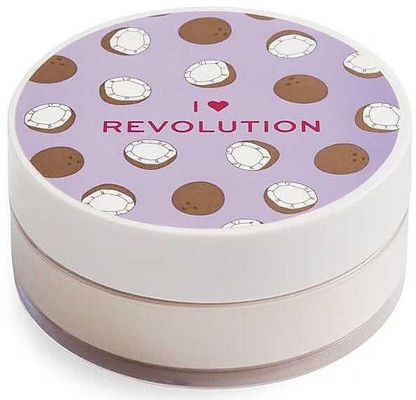 Poudre libre baking pour visage, Coco - I Heart Revolution Loose Baking Powder Coconut