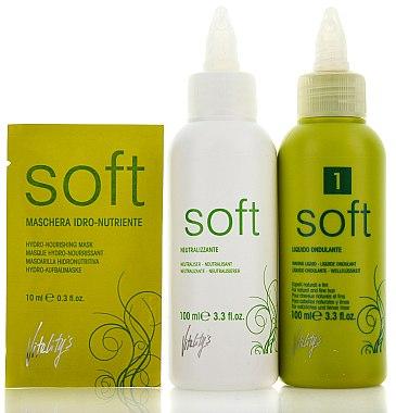 Kit permanente pour cheveux fins et incolores - Vitality's Soft №1