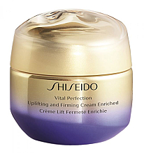 Parfums et Produits cosmétiques Crème au beurre de karité pour visage - Shiseido Vital Perfection Uplifting & Firming Cream Enriched