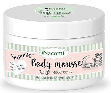 Mousse pour corps Macarons à la mangue - Nacomi Body Mousse
