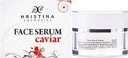 Parfums et Produits cosmétiques Sérum fortifiant à l'extrait de caviar pour visage - Hristina Cosmetics Orient Caviar Face Serum