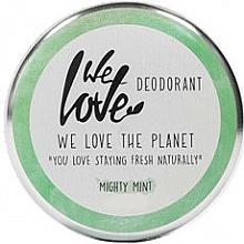 Parfums et Produits cosmétiques Déodorant crème naturel, Menthe - We Love The Planet Mighty Mint Cream Deodorant
